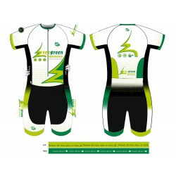 Aero Tri Suit Evergreen Endurance